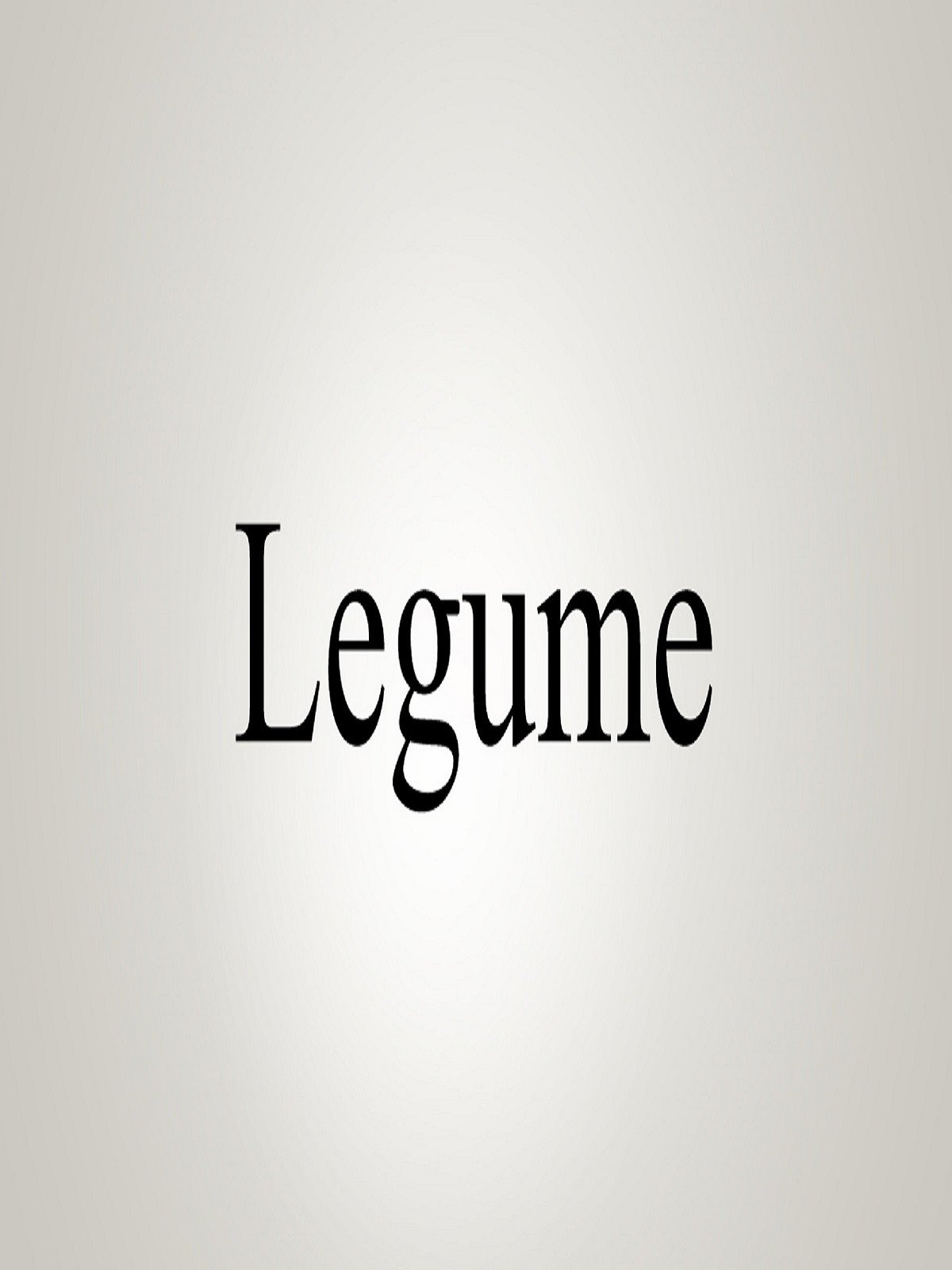 Watch How To Pronounce Legume  Prime Video