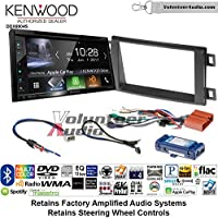 Volunteer Audio Kenwood Excelon DDX6904S Double Din Radio Install Kit with Satellite Bluetooth & HD Radio Fits 2014-2016 Mazda CX-5