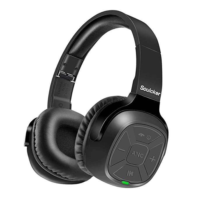 Learned Bluetooth Wireless Headphones Noise Cancelling Over Ear Stereo Headset For Phone Aux Audio Input Carefully Selected Materials Bluetooth Earphones & Headphones