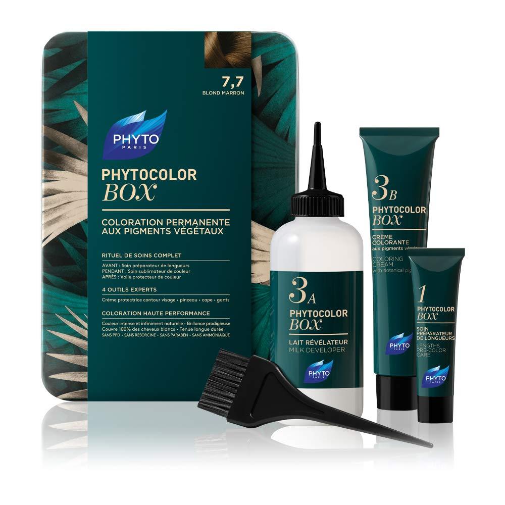 Phyto Phytocolor Box - Tintura Permanente Colore 7.7 Biondo ...