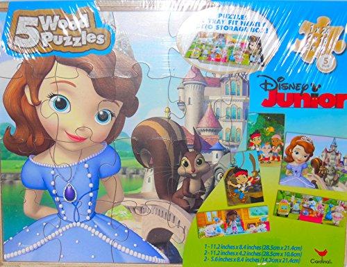 Disney Junior Wooden Puzzles McStuffinis