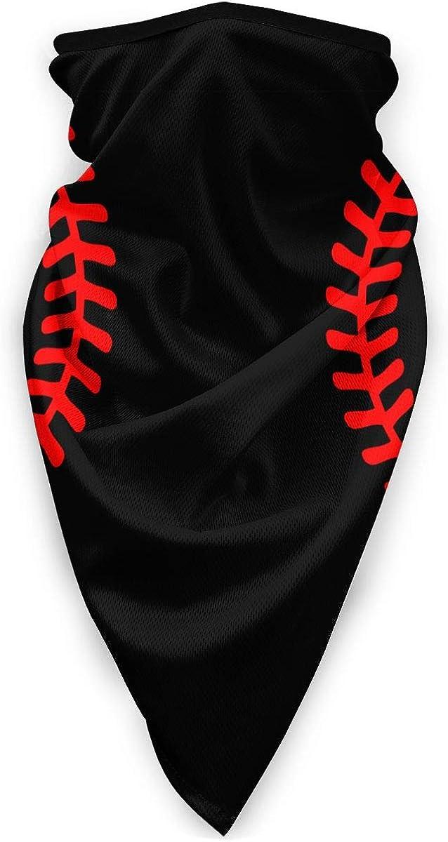 Baseball Stitching Outdoor Face Mouth Mask Windproof Sports Mask Ski Mask Shield Scarf Bandana Men Woman