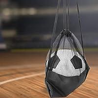 Black Football Opbergtas, met Oxford Doek Oxford Doek Materiaal Kwaliteit Oxford Doek Apparatuur Ball Bag voor Voetbal…