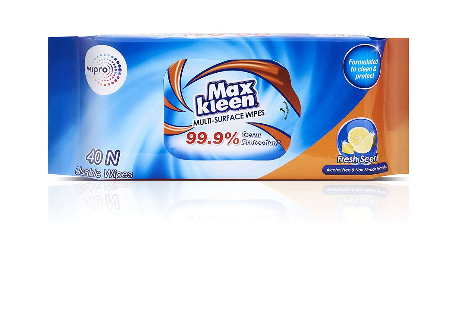 Maxkleen, Multi-Surface Wipes, 315g (Pack of 2)