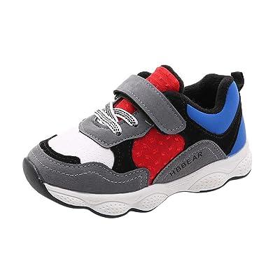 Fineser TM Baby Boys Girls Mesh Light Weight Breathable Sneakers Kid Anti-Slip Running Shoe