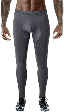 NIKE Pro Hyper Men's Compression Tights Dri-Fit Gray Size XXL