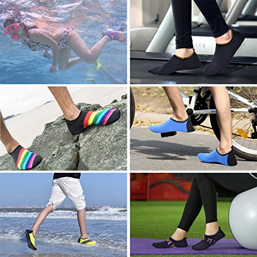 Beach Dive Redjin LUYI Sports Aqua Yoga Skin Swim Shoes Quick Socks Shoes Surf Water Lightweight Womens JACKY Dry Run Shoes Mens wXdRqq8xS