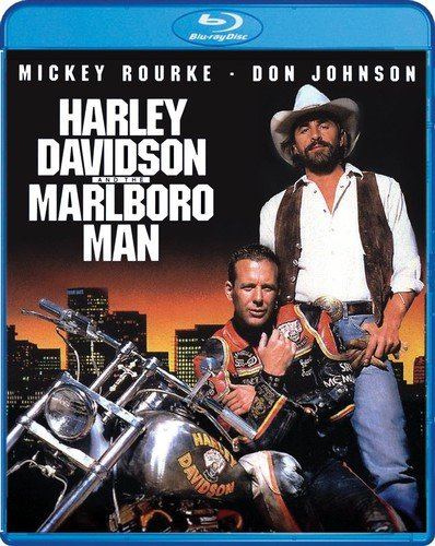 Harley Davidson And The Marlboro Man  Blu Ray