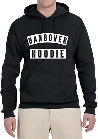 Ladies Womens Fluorescent Hangover Slogan Hoodie Hooded Jacket Fleece Sweatshirt