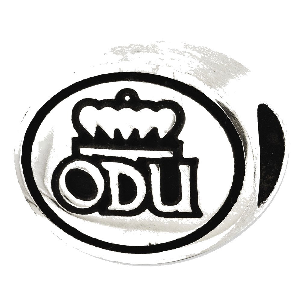 Sterling Silver Antiqued Old Dominion University Collegiate Bead