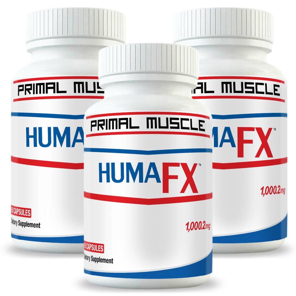 Best Post Workout Muscle Recovery Supplement - HUMATROPIC (3 Month Supply) [With Micro-RNA Technology] - Users Report FAST After Workout Muscle Recovery - Results 100% GUARANTEED!