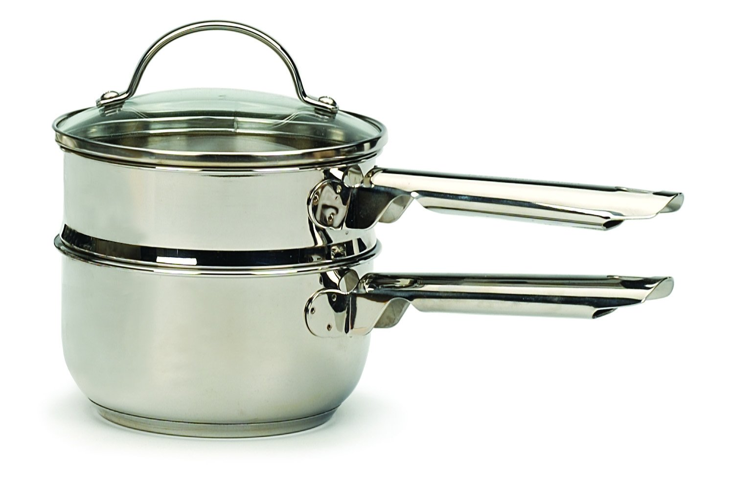 RSVP Endurance Stainless Steel Induction Double Boiler, 1 Quart