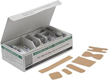 STEROSTRIP hipoalergénica tiritas – paquete de 100: Amazon.es: Salud y cuidado personal