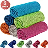 Best Cooling Towels - KEAFOLS Cooling Towel 6 Packs 40x12'' Chill Ice Review