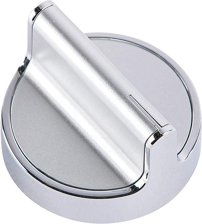 Whirlpool Gas Range Black Stainless Burner Knob Part W11239985 New