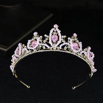 Pink Crystal Tiara