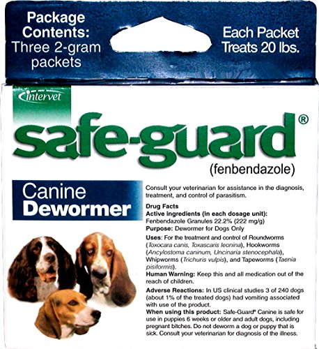 Merck Animal Health Safe-Guard Canine Dewormer, 2 gm by Merck Animal Health
