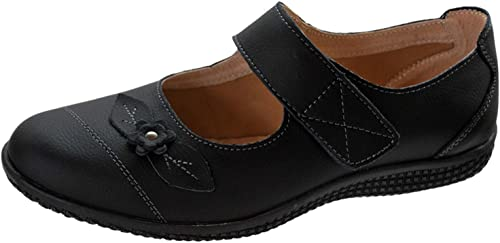 Boulevard Womens Wide FIT EEE Leather