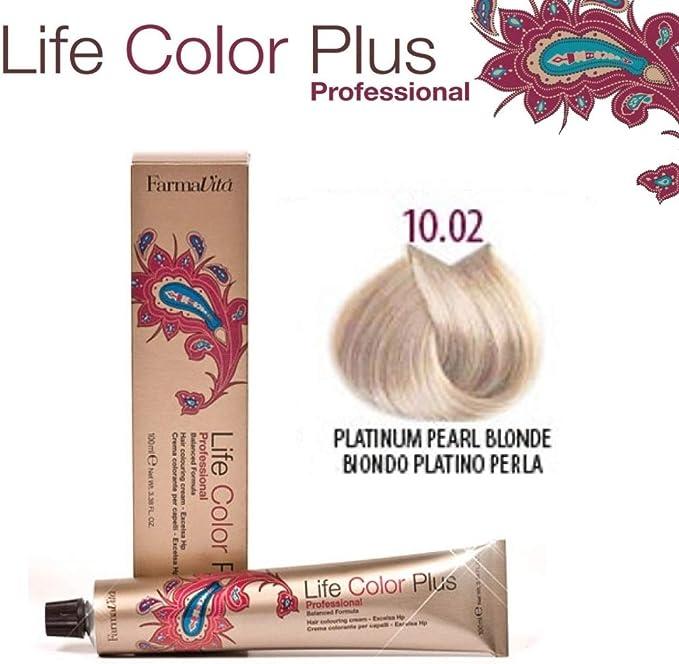 FarmaVita Life Color Plus Tinte Capilar 10.02-90 ml (8022033007636)