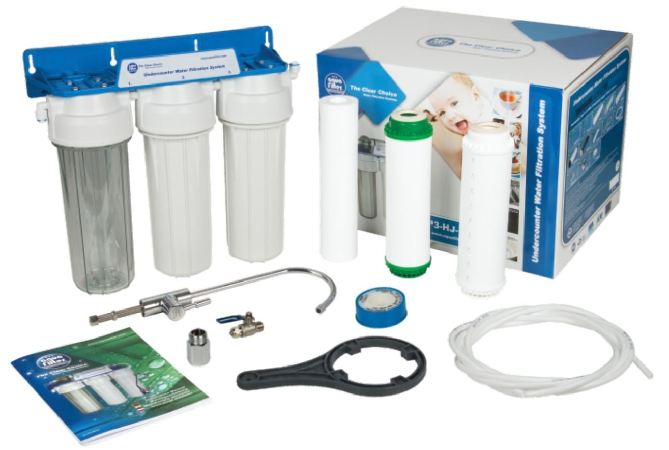 3Stages Water Filter for Kitchen Drinking Water Reverse Osmosis Aquarium Reverse Osmosis