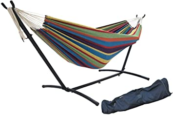 SueSport Double Hammock with Portable Carrying Case