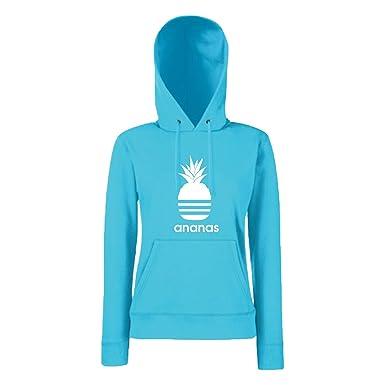 Shirt-Panda Damen Mädchen Hoodie Ananas Motiv Spruch Fun Cool Ladyfit   Amazon.de  Bekleidung 9e4fb48d5e