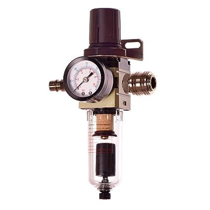 Impresión filtro de aire automático Auto Drain unidad de mantenimiento Reductor de presión Regulador para compresor