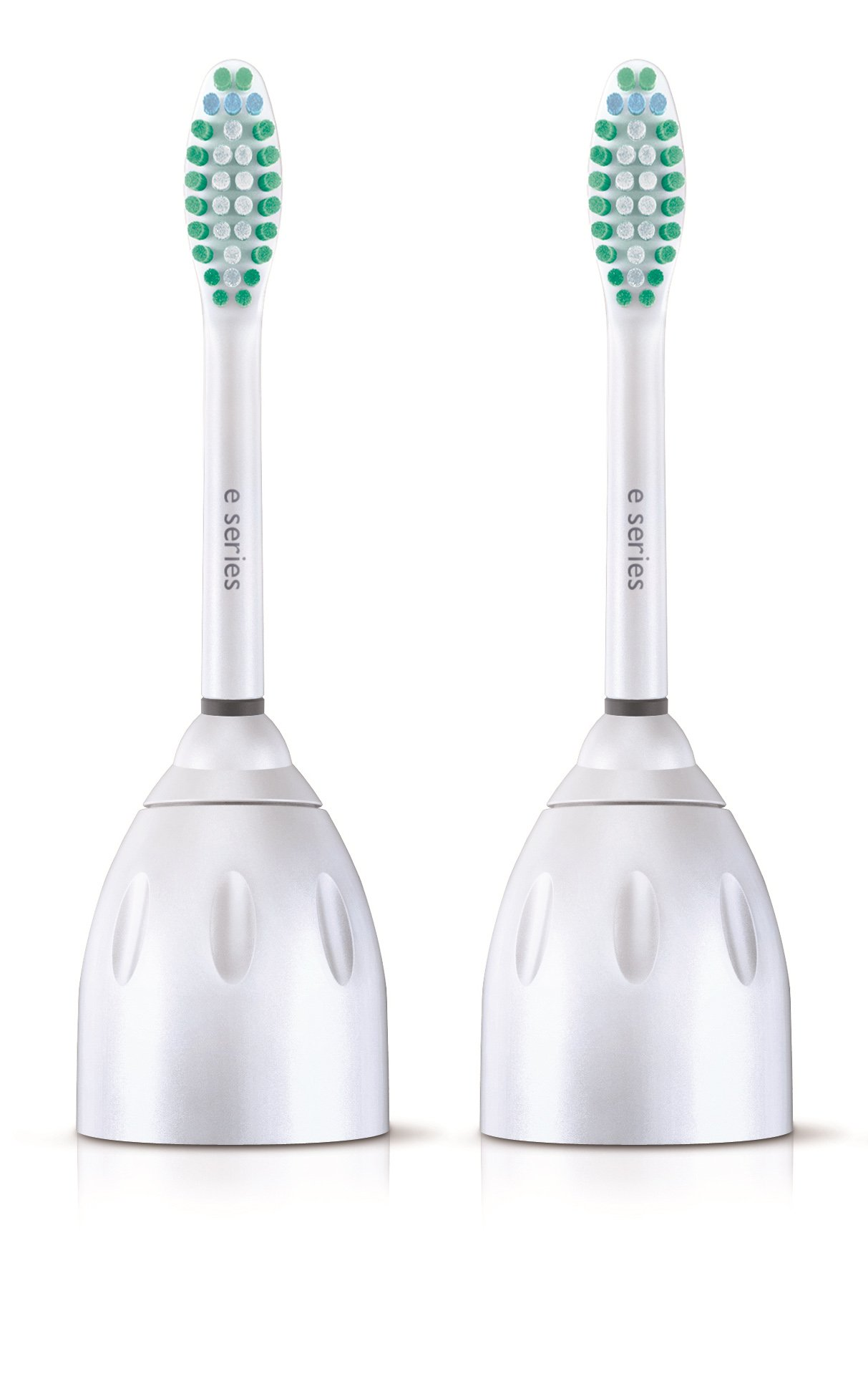 Genuine Philips Sonicare E-Series replacement toothbrush head, Pack of 2, Frustration Free Packaging, (HX7022/30, 2) by Philips Sonicare