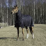 Horze Supreme Avalanche 1200D Medium Weight Combo Turnout (75'' (140), Black)