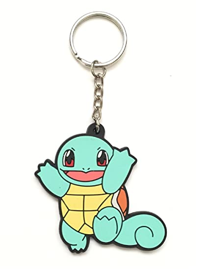 Amazon.com: Pokemon Squirtle PVC Llavero Series # 4 ~ 2 ...