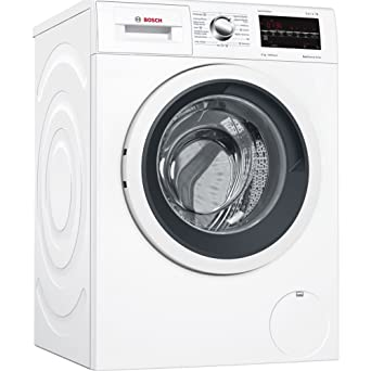 Bosch Serie 6 WAT28469ES Independiente Carga frontal 8kg 1400RPM A+++-30% Negro, Color blanco - Lavadora (Independiente, Carga frontal, Negro, Color ...