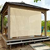 Alion Home Sun Shade Privacy Panel with Grommets on 4 Sides for Patio, Awning, Window Cover,...