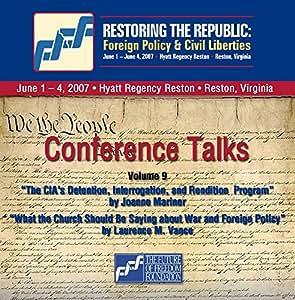 2-CD Set Volume 9: Joanne Mariner and Laurence M. Vance - Restoring the Republic 2007