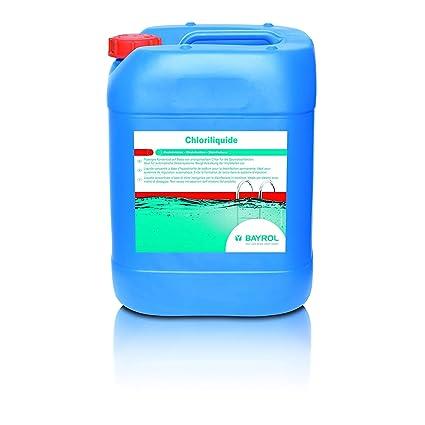 Bayrol Chloriliquide 20 L 25kg Hochwertigstes Flussigchlor Zur