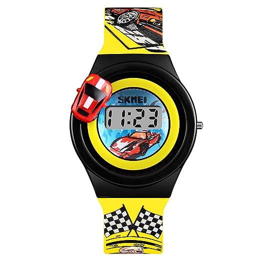 Relojes deportivos digitales para niños adolescentes electrónicos impermeables al aire libre reloj con multifunción cronómetro/alarma/temporizador/luz ...