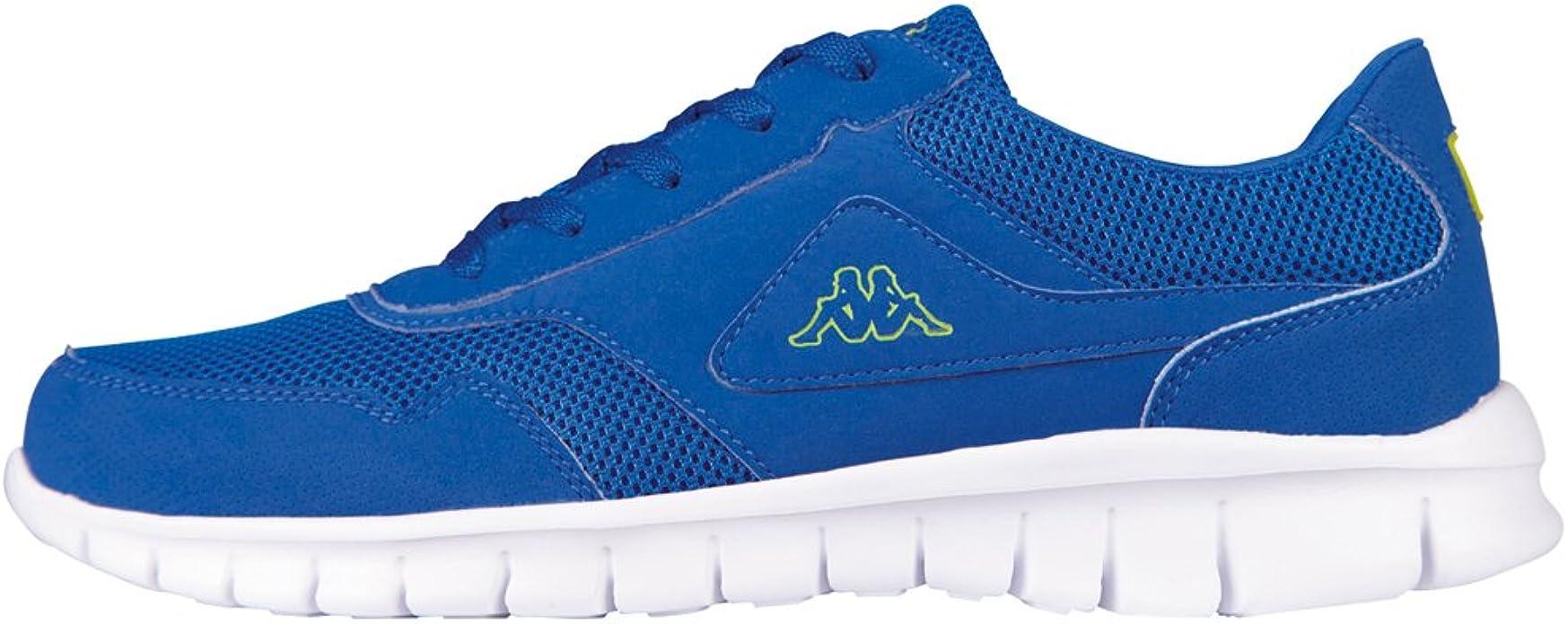 Kappa 242068 - Tobillo bajo de Sintético Unisex Adultos, Color Azul, Talla 46 EU: Amazon.es: Zapatos y complementos