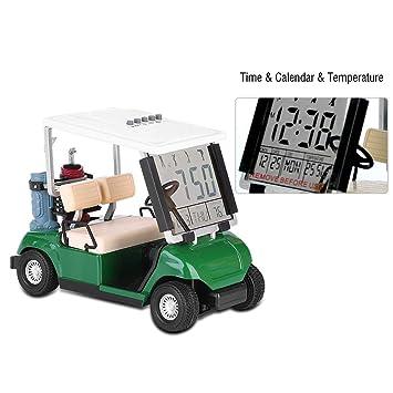 AYNEFY Mini Carrito de Golf, Forma de Carrito de Golf ...