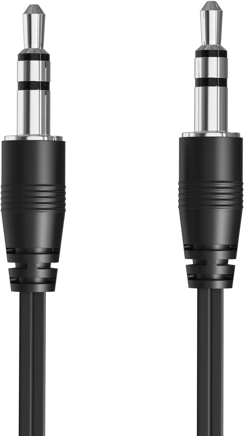 HTC One M9 // M9 Plus + Fosmon 3 Pack Samsung Galaxy S6 // S6 Edge 3.5mm Retractable Aux Cable Auxiliary Audio Cord for Apple iPhone 6//6 Plus