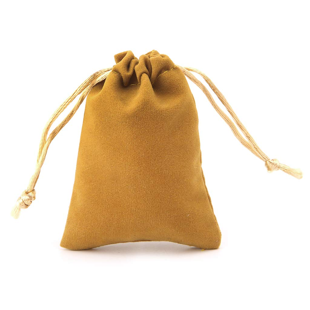 Llwei 5pcs Dungeons And Dragons Dice Bag Velvet Drawstring Bags Tarot Card Jewelry Bag