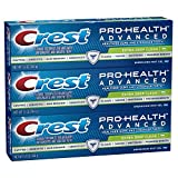 Crest Pro-Health Advanced Extra Deep Clean Gel Toothpaste With Energizing Mint Gel, 5.1 Ounce (Pack of 3)