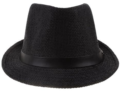 Hengsong Heng Song Donna Uomo Paglia Jazz Estate Spiaggia Sole Cappello  Berretto Hats Caps ( e10898fb3d9b