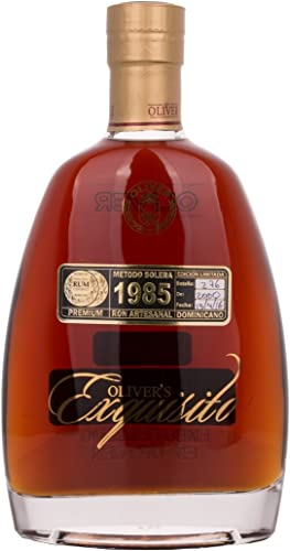 Ron exquisito by Oliver años 1985 (1 x 0,7 l)