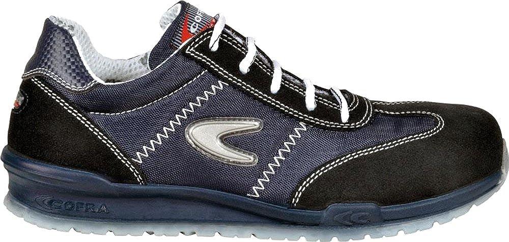 COFRA Sicherheitsschuhe im Sneaker Look Modern und Running Sportlich aus der Beliebten Running und Reihe Verschiedene Farben Schwarz - Brusoni ccf9af