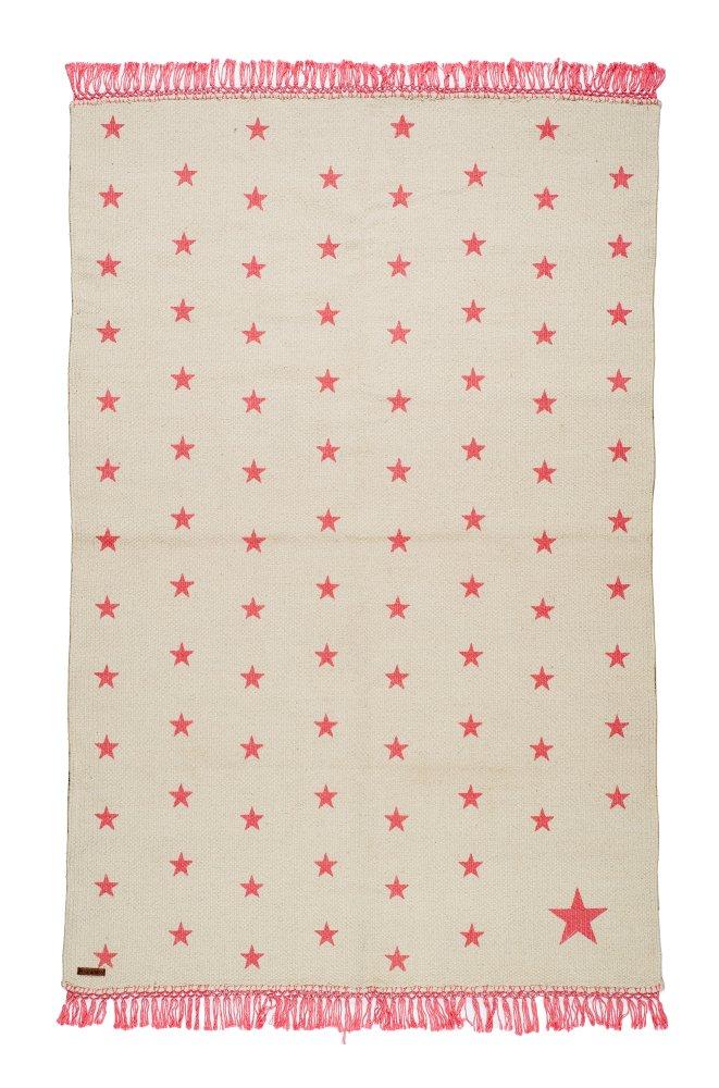 VARANASSI Rug Collection Pop Stars TC2C150SK White//Pink