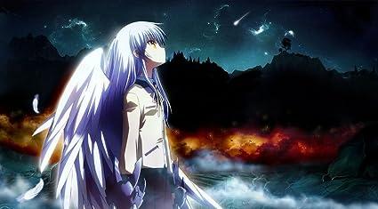 Amazon com: Angel Beats Poster Tachibana Kanade/Otonashi