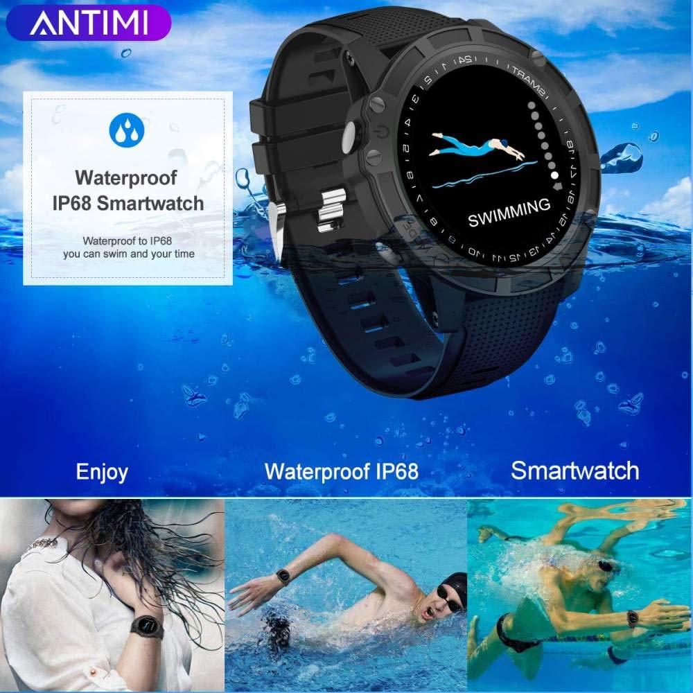 XUWLM Pulsera Relojes inteligentes, Bluetooth Reloj inteligente ...