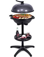 Giantex 1350W Electric BBQ Grill Non-Stick w/ 4 Temperature Setting Outdoor Garden Patio Camping