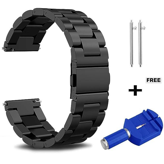 Correa de metal de 20 mm para Samsung Galaxy Watch Active ...