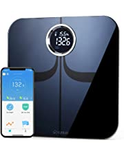YUNMAI Premium Smart Scale - Body Fat Scale with New Free APP & Body Composition Monitor with Extra Large Display - Works with iPhone
