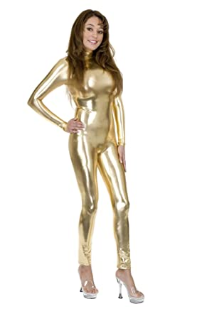 Amazon.com  Charades Women s Liquid Metal Unitard 7e53dfec8